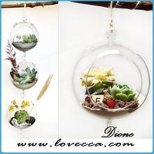 most popular wholesale glass terrarium wholesale home decor handicraft