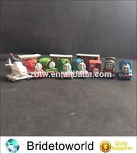 12pcs Plastic cartoon thomas train toys for kids