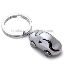 3D Promotional Zinc Alloy Wholesale Custom Metal Keychain