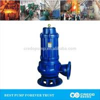 QW series submersible sewage pump, 12v dc submersible water pump
