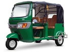 New Bajaj type three wheel motorcycle rickshaw tricycle