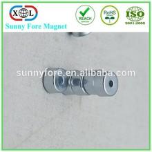 mini zinc coating neodymium magnets n35 disc