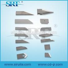 Sample making cutting machine blade/tungsten carbide knife blade