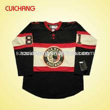 Chicagoblackhawksฮอกกี้เสื้อ& เสื้อฮ็อกกี้น้ำแข็งที่กำหนดเองและการออกกำลังกายsinglets