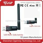 GWF-3S4T fashion 802.11n wifi 150mbps mini wireless usb adapter