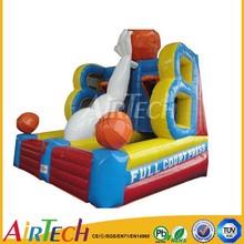New design inflatable basketball game