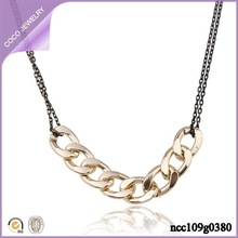 Wholesale Personalized Long Women Gold Plated Gold Necklace Chain