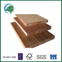 teak/oak/ pencil cedar / cherry melamine faced blockboard for furniture