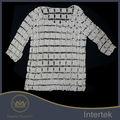 De alta calidad baratos de china fabricante de ganchillo ladies' blusa de encaje