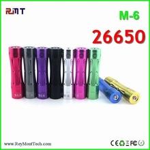 Ego vaporizer pen 26650 m6 mod ,Battery e cig mod 26650 m6 mod
