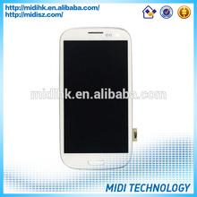 for Samsung Galaxy S3 LCD + Digitizer + Frame ORIGINAL + NEW