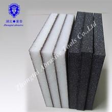 Super Flexible 125x98x12mm Abrasive Sanding Block Sponge White