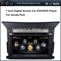 7 inch Digital Screen Car DVD GPS Player for Honda Pilot