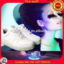 Lovers Led Light Shoes Factory led luminous shoes for dancer