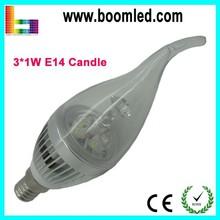 High Brightness 3W C35 LED Candle Bulb E14