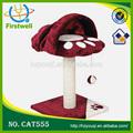 حار مبيعات العضوية الكرتون القط scratchers منتجات شجرة القط القط