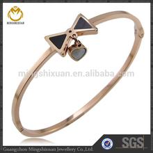 fashion design trendy peal rose gold bracelets