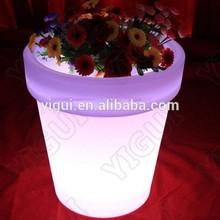 mobile LED bar flower pot, bar flower pot/ people love waterproof flower pot