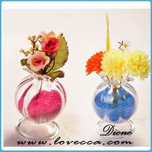 Fashion Covert Glass Ball art flower vase