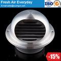 عالية الجودة المطبخ الفولاذ المقاوم للصدأ جدار تنفيس الهواء للتهوية