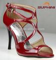 Red Tango zapatos de las muchachas del uniforme escolar