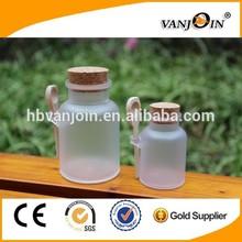 Plastic Jar with Wooden Spoon Bath Salt