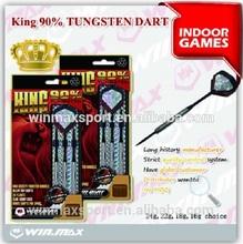 WMG11405 Nerf Soft Tip King 90% Tungsten Barrel Darts,Plastic Needle Soft Tip Set Brass Darts,dart set