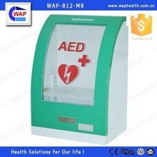 WAP-health logo branded open up metal cabinet for outdoor use