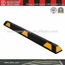 High quality black rubber molded wheel stopper