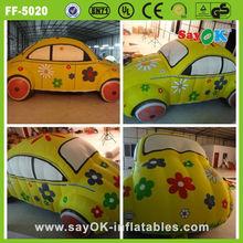 advertising jack inflatable bumper car model for sale