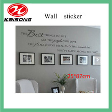 Any Style Ink Wash Drawing Decorative Wall Stickers, Crown Wall Sticker Home Wall Decoration