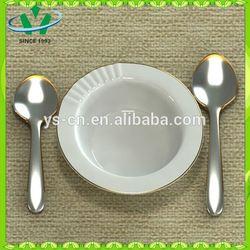 White Square Flat White Porcelain Cake Plate, Dessert, Salad Plates Dishes