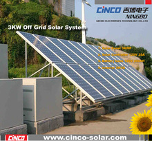 High effective and low loss 3kw solar system ,off grid home system with easy install