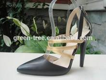 Hot sale sexy women design italian lady leather shoe