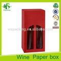 california de lujo caja de color rojo vino botella de licor de bolsas de regalo caja del vino