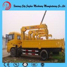 isuzu crane truck/hydraulic arm crane for trucks/original used rough terrain crane