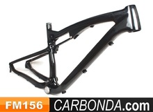 Chinese OEM toray carbon 165*38mm travel 27.5 carbon frame full suspension
