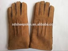 genuine sheepskin custom made leather driving gloves