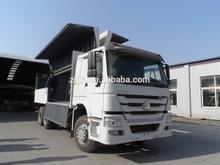 Easy loading! SINOTRUK HOWO 30 Tons Special wing Van