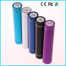 2600mAh led lighting long time battery backup mobile with cable