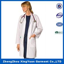 Cotton T/C Hospital Doctors Uniforms White Coat For Lab Staff,doctors white coat