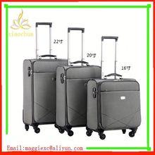 H29 Hot sale trolley luggage, nylon luggage locks for international travel