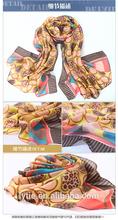 High quality digital print ladies long pashimina scarf