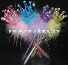 Crown Ball Pen/Feather Ball Pen