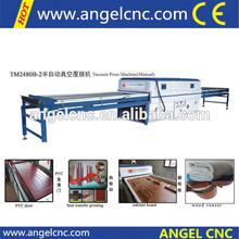 laminator hot Vacuum Membrane Pressing /Door making machines/PVC door woodworking machine Vacuum mold press machine