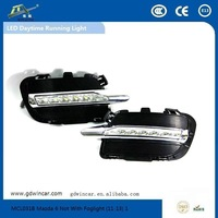 Factory Attractive price Auto LED DRL Top quality Led car light for Mazda 6 Not With Foglight LED Daytime Running Light