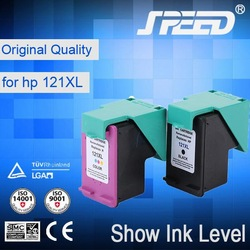 Supreme Quality refillable ink cartridge 121 resetting printer ink cartridge with German Ink