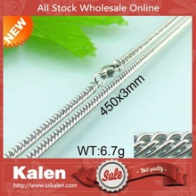 professional factory stainless steel chain necklace in roll