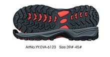 Reliable quality phylon+rubber hiking outsole for brand shoes
