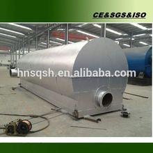 Auto alarm control system vacuum recycle tire oil machine